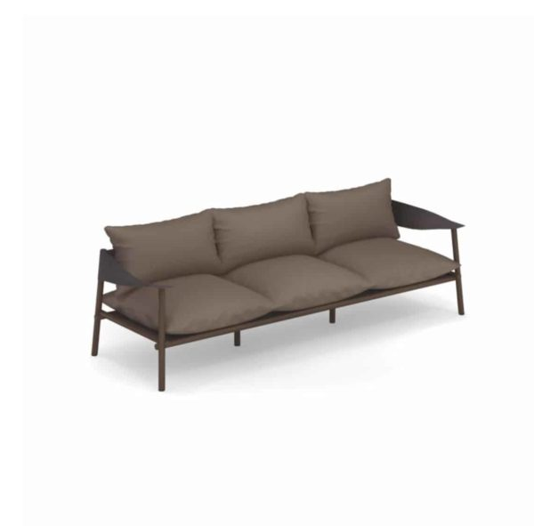 Terramera 3 seater Sofa from Emu available from DeFrae Contract Furniture London Brown