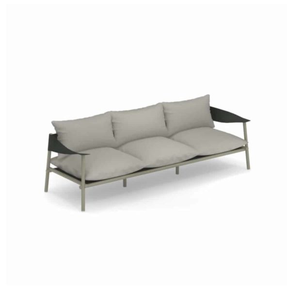 Terramera 3 seater Sofa from Emu available from DeFrae Contract Furniture London Cream