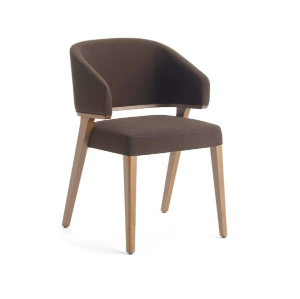Tiempo Side Chair Time Accento DeFrae Contract Furniture Beige