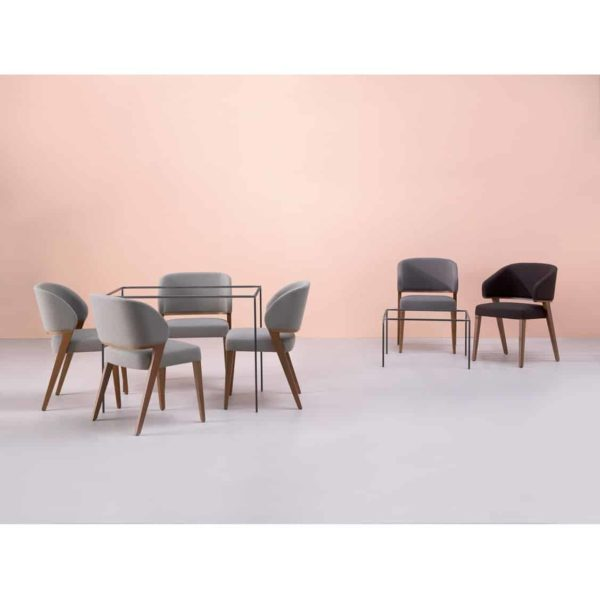 Tiempo Side Chair Time Accento DeFrae Contract Furniture Range