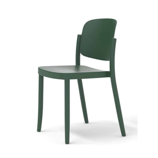 Torrington side chair Piazza Colos available at DeFrae Contract Furniture Green