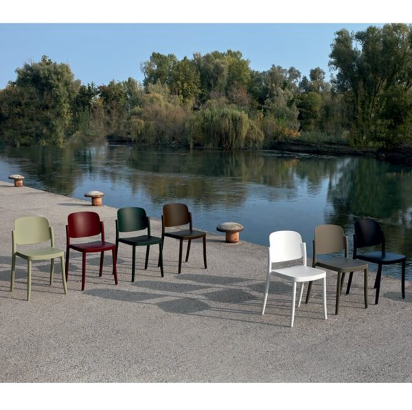 Torrington side chair Piazza Colos available at DeFrae Contract Furniture Range Of Colours