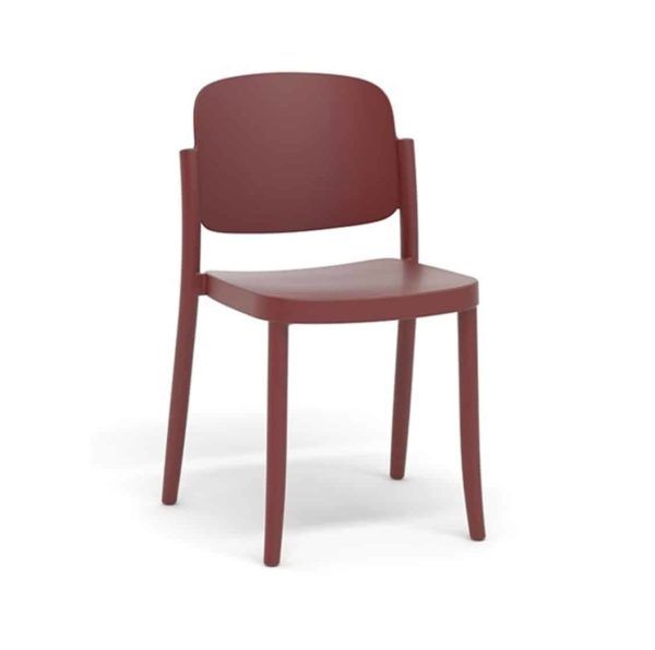 Torrington side chair Piazza Colos available at DeFrae Contract Furniture Red