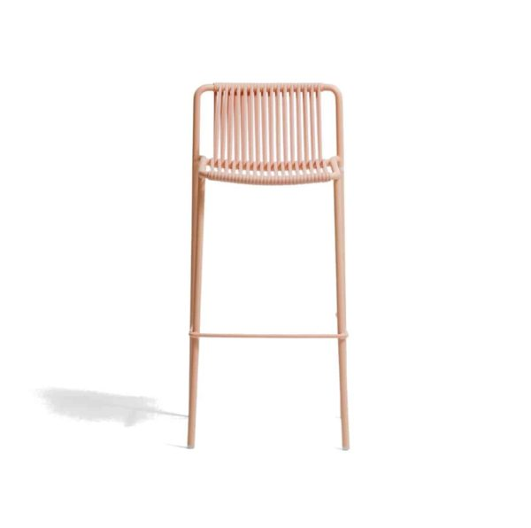 Tribeca Bar Stool Pedrali available from DeFrae Contract Furniture Pink Back
