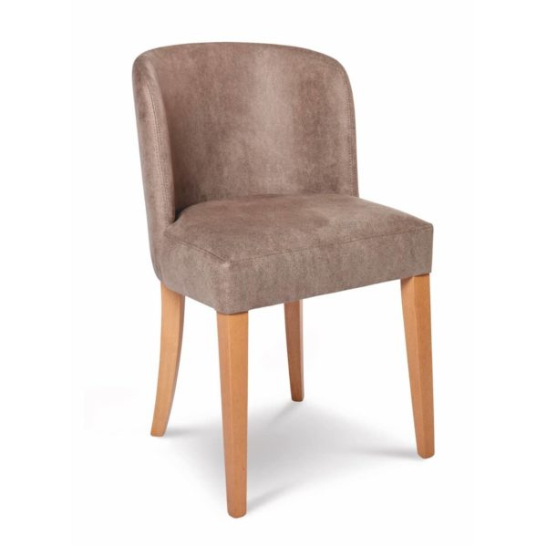 Valencia Side Chair Upholstered With Wooden Frame DeFrae Contract Furniture