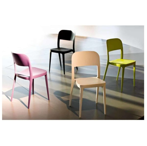Venice Side Chair Nene Midj At DeFrae Contract Furniture Colours