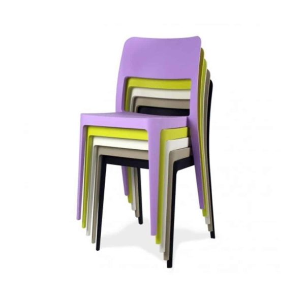 Venice Side Chair Nene Midj At DeFrae Contract Furniture Stackable
