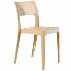 Venice Wood Side Chair Nene Midj At DeFrae Contract Furniture
