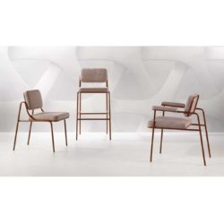 Verve Chair Armchair Bar Stool Available From DeFrae Contract Furniture