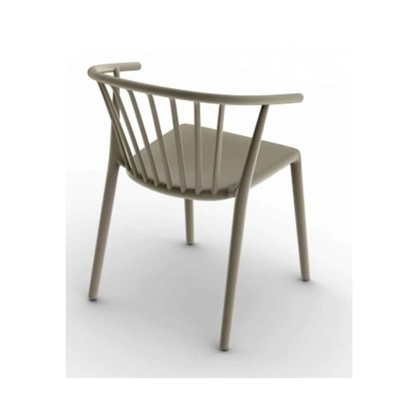Wilson woody chair spindle back from DeFrae Contract Furniture Arena Brown