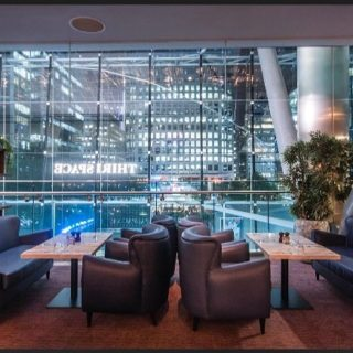Baron Sofas at The Pearson Rooms Canary Wharf London by DeFrae Contract Furniture