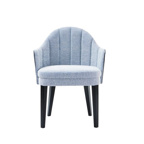 Corbetti Armchair Fluted Back X8 at DeFrae Contract Furniture