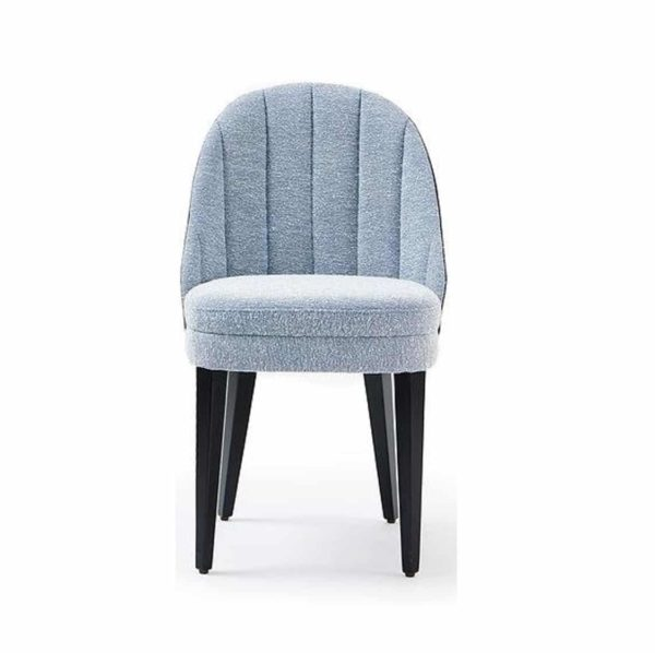 Corbetti Side Chair Fluted Back X8 at DeFrae Contract Furniture