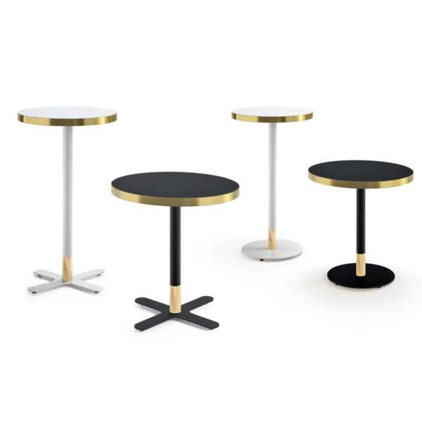 Duplex Corbetta Table With Brass Edging Range