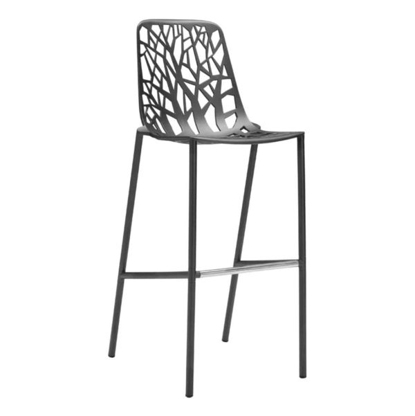 Forest Bar Stool available at DeFrae Contract Furniture Black