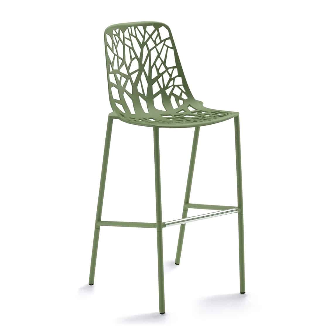 Forest Bar Stool available at DeFrae Contract Furniture Sage Green