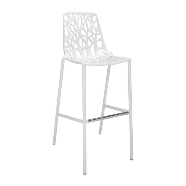 Forest Bar Stool available at DeFrae Contract Furniture White