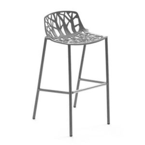 Forest Low Back Bar Stool available at DeFrae Contract Furniture Grey