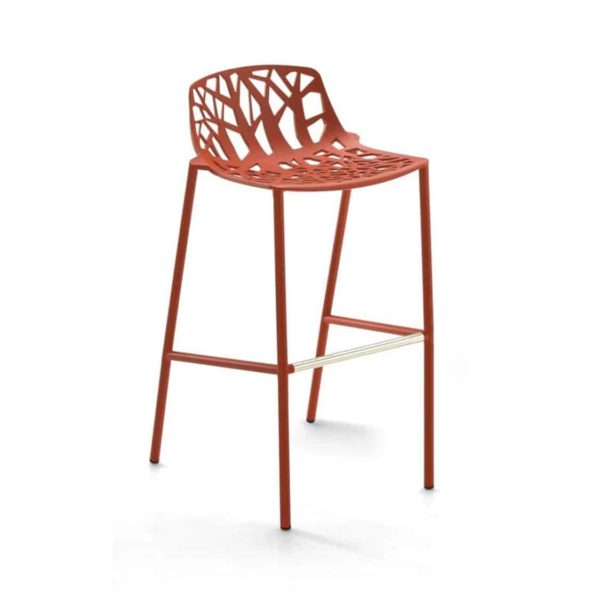 Forest Low Back Bar Stool available at DeFrae Contract Furniture Red