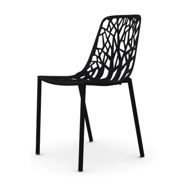 Forest Side Chair available at DeFrae Contract Furniture Black