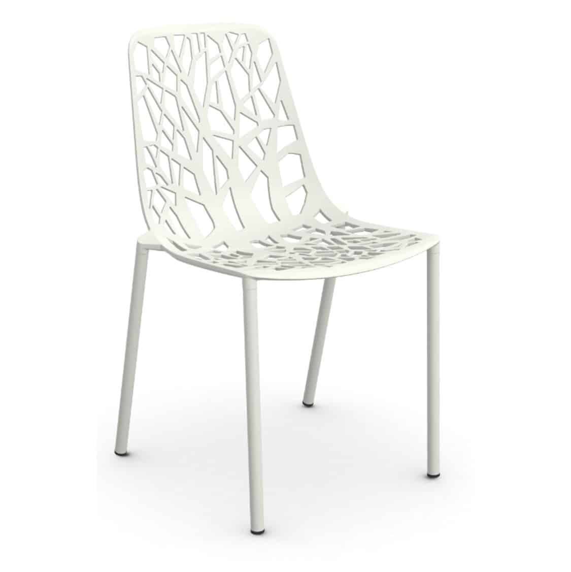 Forest Side Chair available at DeFrae Contract Furniture White