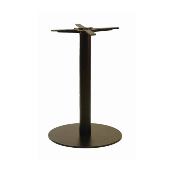 Forza round cast iron table base black