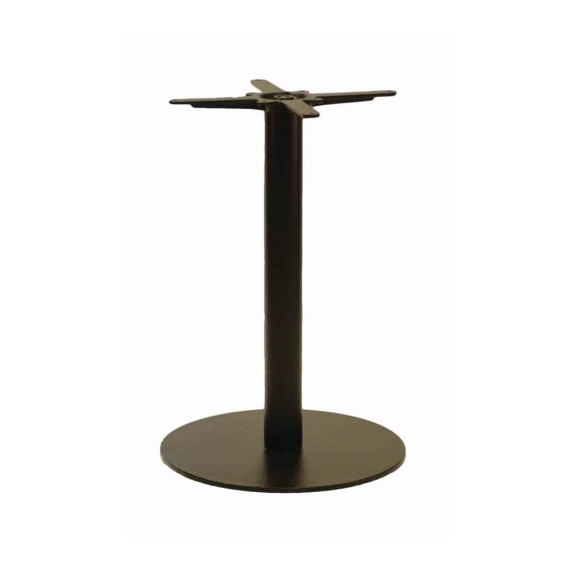 Forza round cast iron table base black
