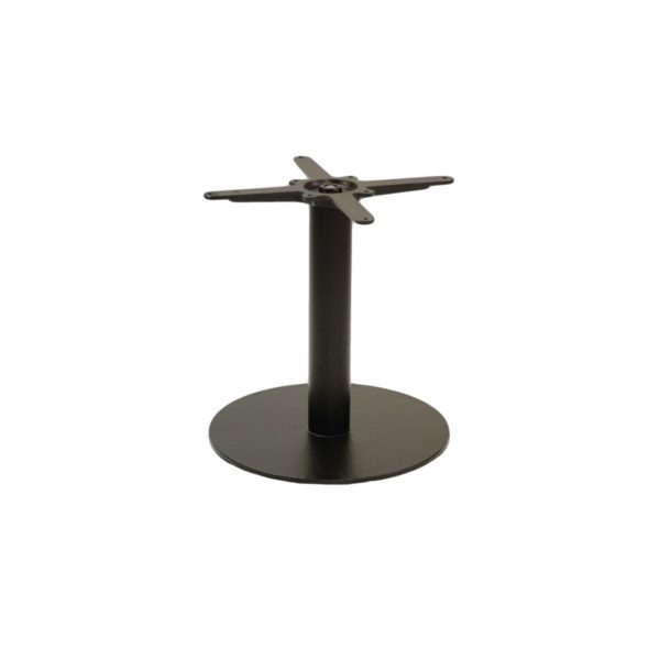 Forza round cast iron table base coffee height