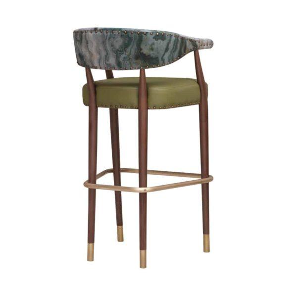 Grove Bar Stool Maria CM Cadeiras DeFrae Contract Furniture Back