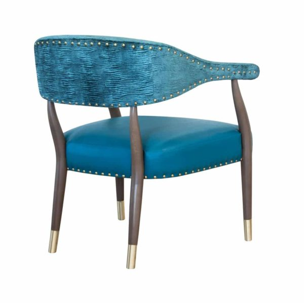 Grove lounge chair Maria CM Cadeiras DeFrae Contract Furniture back
