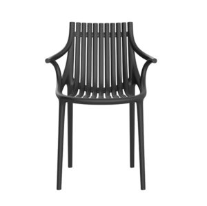 Ibiza Armchair Vondom DeFrae Contract Furniture Black