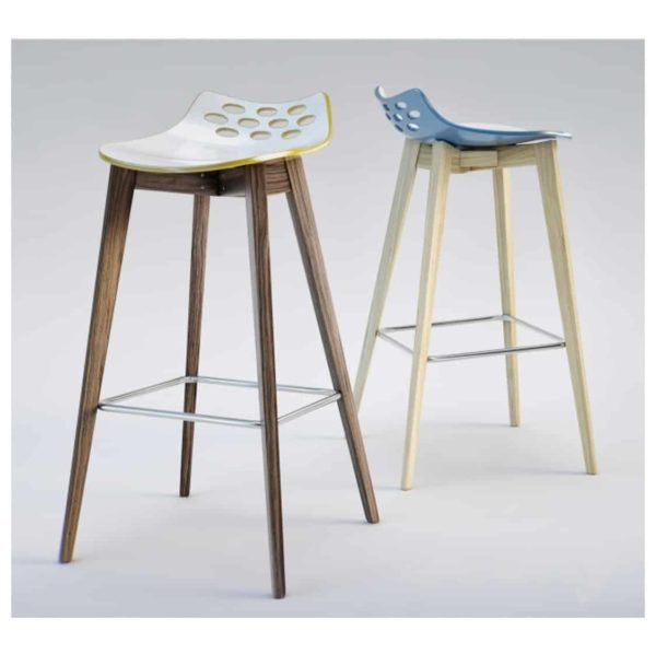 Jam W Bar Stool Connubia by Calligaris at DeFrae Contract Furniture Range