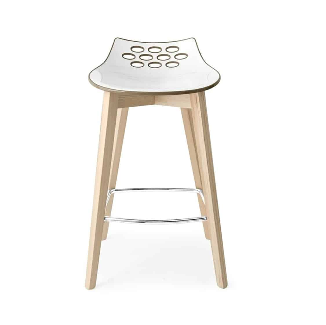 Jam W Bar Stool Connubia by Calligaris at DeFrae Contract Furniture