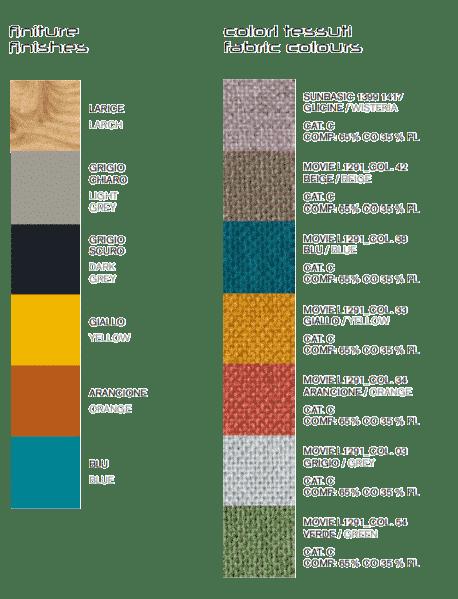 JuJube Colours and Fabrics