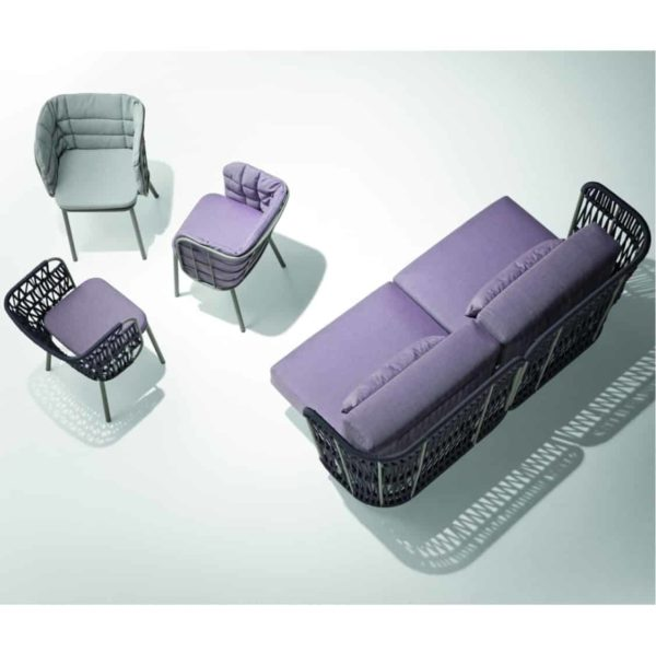 JuJube SP Ottoman Sofa and Armchair Range DeFrae Contract Furniture