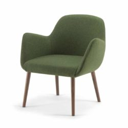 Kesy low back lounge chair 05 DeFrae Contract Furniture