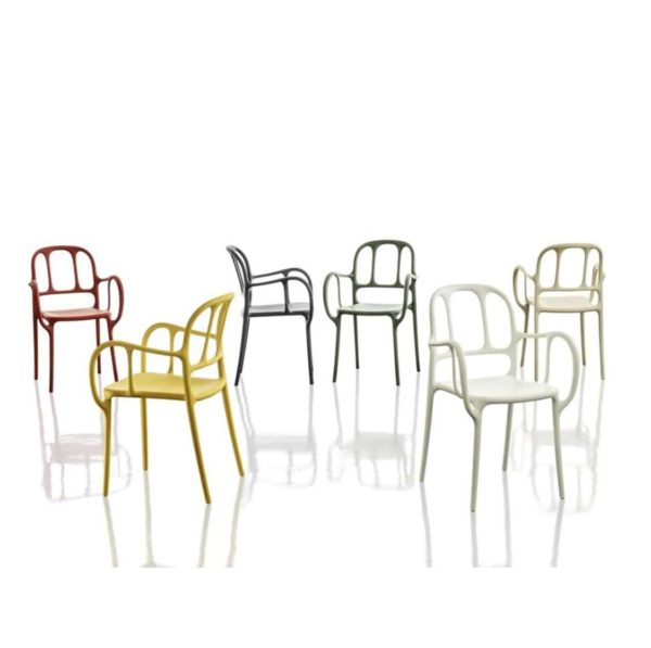Mila Armchair Magis at DeFrae Contract Furniture Colours
