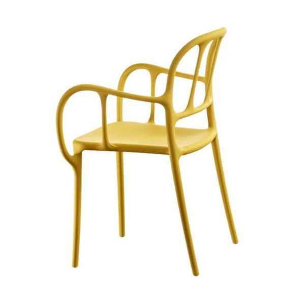 Mila Armchair Magis at DeFrae Contract Furniture Mustard Yellow