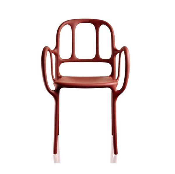 Mila Armchair Magis at DeFrae Contract Furniture Red