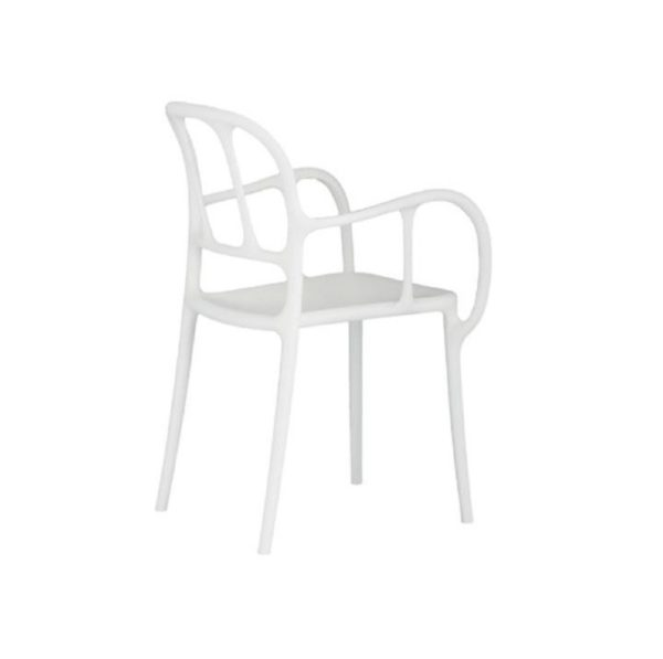 Mila Armchair Magis at DeFrae Contract Furniture White
