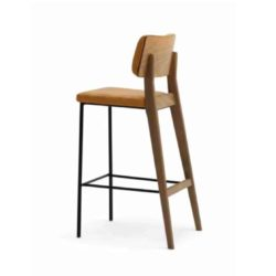 Oakland Bar Stool Laco at DeFrae Contract Furniture Side