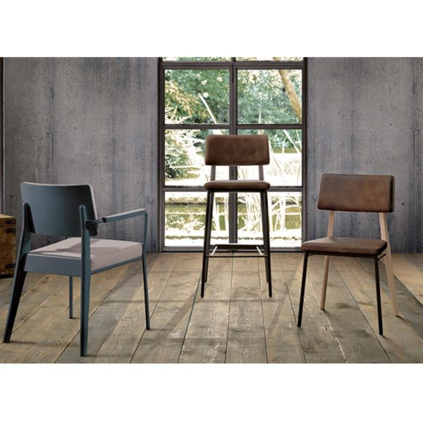Oakland Chair Armchair and Bar Stool Laco at DeFrae Contract Furniture