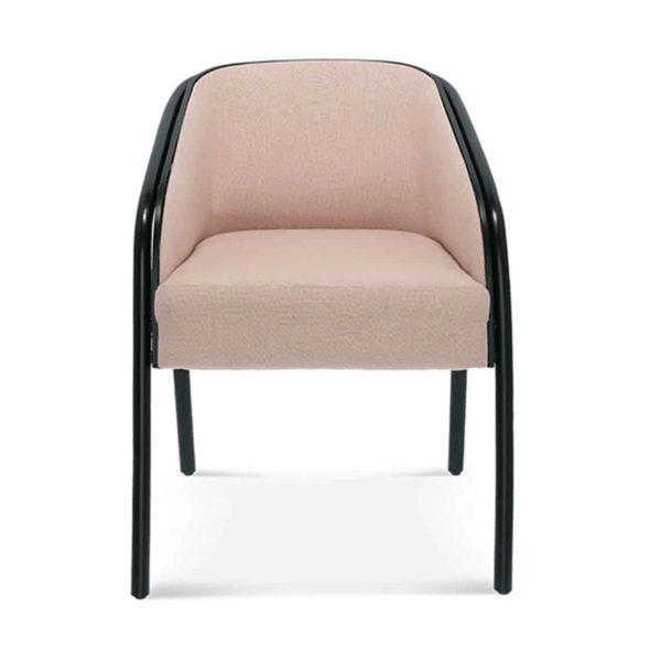 Plum armchair DeFrae Contract Furniture