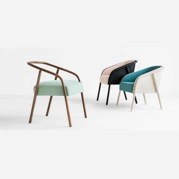 Plum armchair range DeFrae Contract Furniture 2