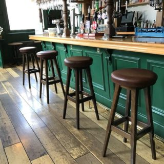 Pub Furniture by DeFrae Contract Furniture at The Nightingale Pub Wanstead
