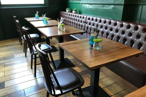 Pub Restaurant Furniture by DeFrae Contract Furniture at The Nightingale Pub Wanstead 2