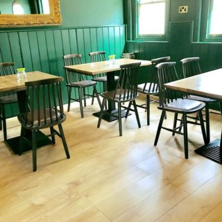 Pub Restaurant Furniture by DeFrae Contract Furniture at The Nightingale Pub Wanstead 4