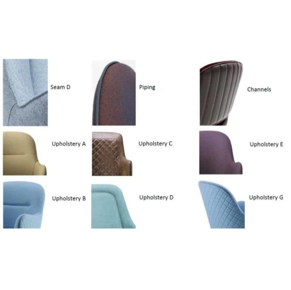 DeFrae Contract Furniture Upholstery Options For Chairs