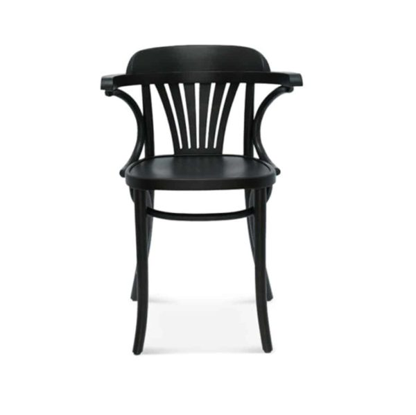 Core Armchair Classic Bentwood Side Chair DeFrae Contract Furniture Front View