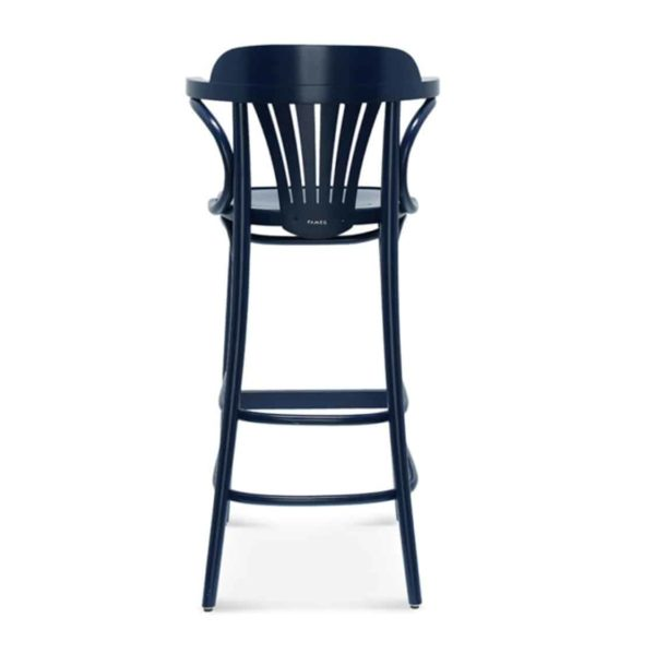 Core Bar Stool Classic Bentwood DeFrae Contract Furniture Back View